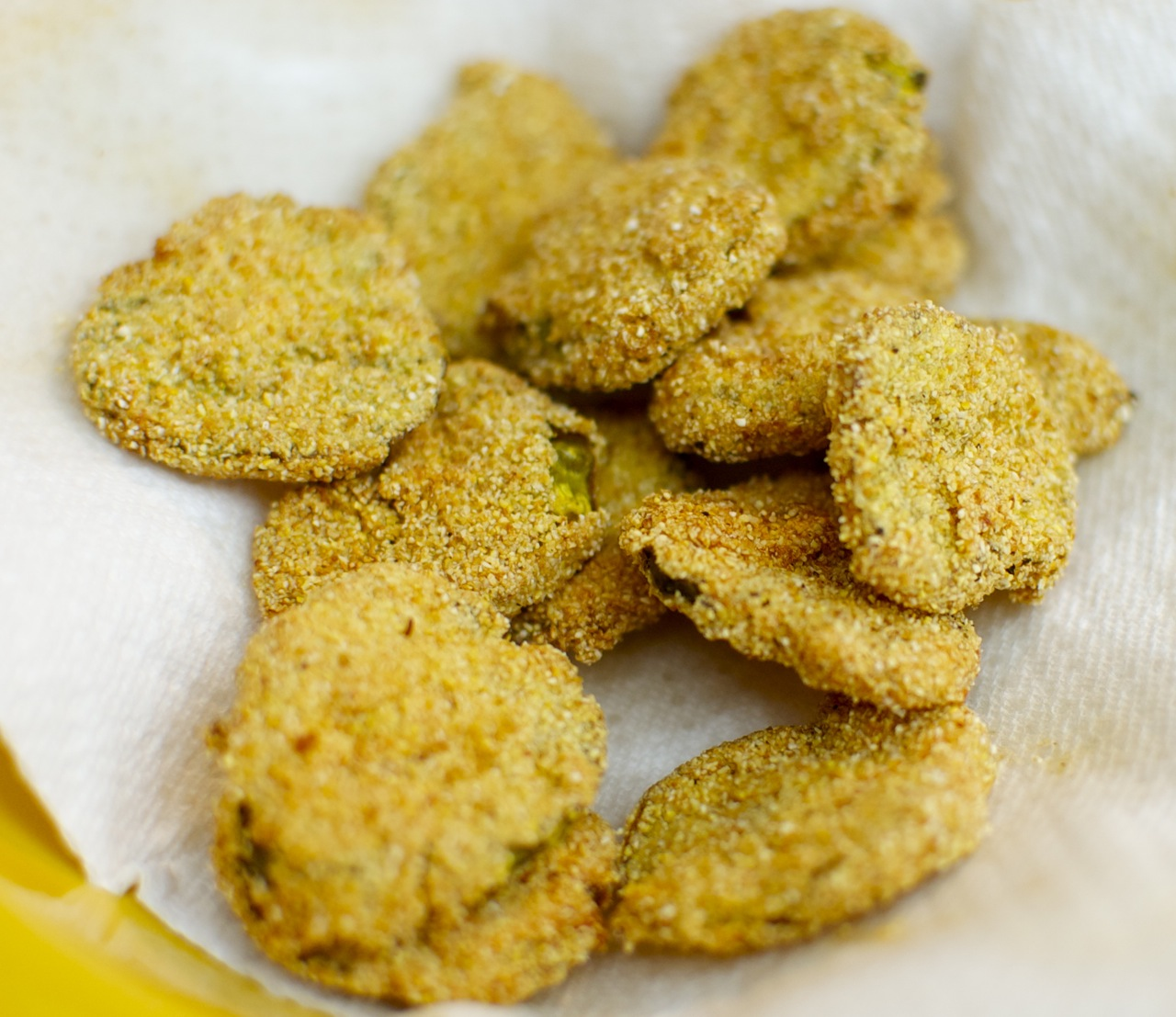 Fried Pickles Recipe — Dishmaps
