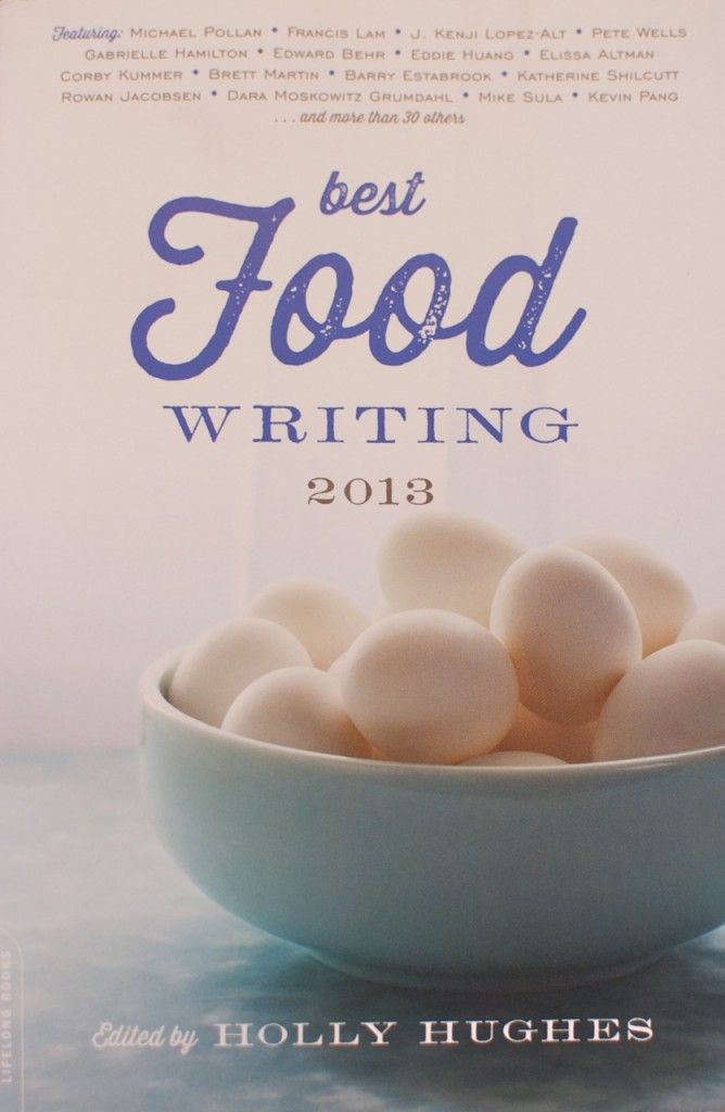 food writing book
