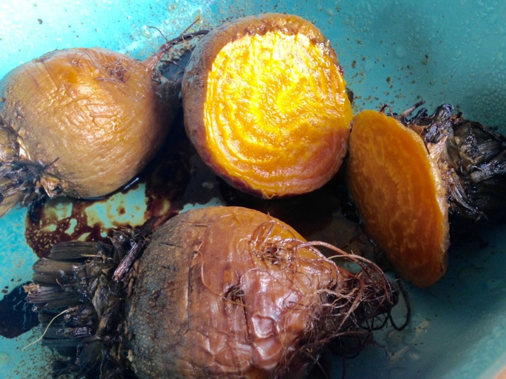 roasted gold beets